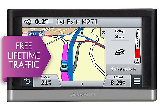 Garmin Nuvi 2577 LT North America and Full Europe Sat Nav