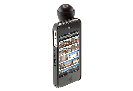 Bubblescope 360 Camera Lens with iPhone 4/4S/5 Case