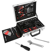image of Halfords 52 Piece Aluminium Tool Set