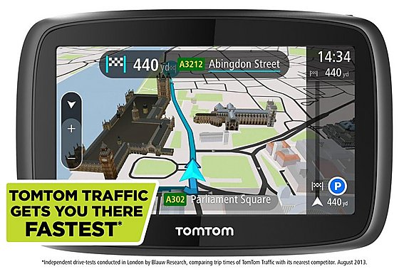 TomTom GO 400 Sat Nav - UK, ROI & Full Europe