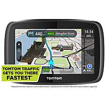 "image of TomTom GO 400 4.3"" Sat Nav - UK, ROI & Full Europe"