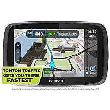 image of TomTom GO 500 Lifetime Traffic & Maps Sat Nav - UK & ROI