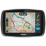 "image of TomTom GO 5000 with MyDrive & Lifetime TomTom Traffic & Maps 5"" Sat Nav - UK, ROI & Europe"