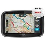 """image of TomTom GO 5000 with Lifetime TomTom Traffic & Maps 5"""" Sat Nav - UK, ROI & Europe"""