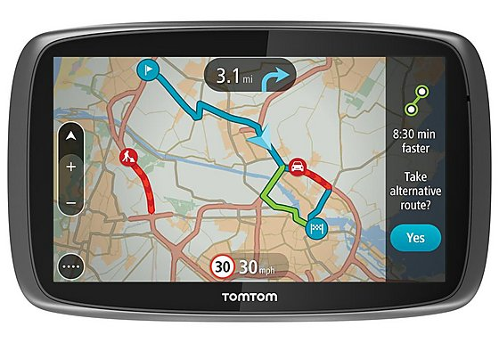 TomTom Go 6000 Sat Nav - UK, ROI & Europe