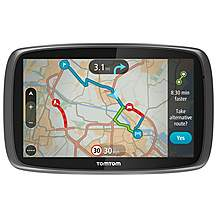 image of TomTom Go 6000 Sat Nav - UK, ROI & Europe