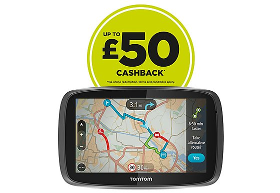 TomTom GO 6000 Lifetime Traffic & Maps 6
