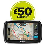 "image of TomTom GO 6000 Lifetime Traffic & Maps 6"" Sat Nav - UK, ROI & Europe"