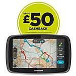 """image of TomTom GO 6000 Lifetime Traffic & Maps 6"""" Sat Nav - UK, ROI & Europe"""