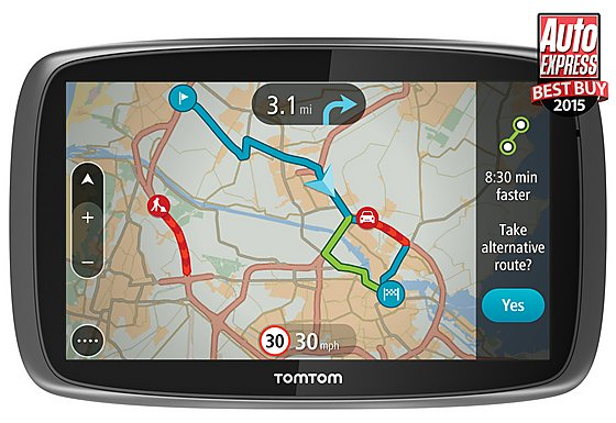 TomTom GO 6000 with Lifetime TomTom Traffic & Maps 6
