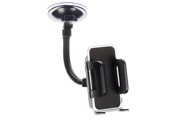 Halfords Car Phone Holder - Silver