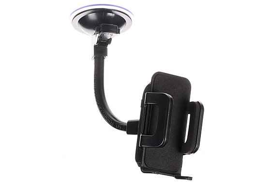 Halfords Car Phone Holder - Black
