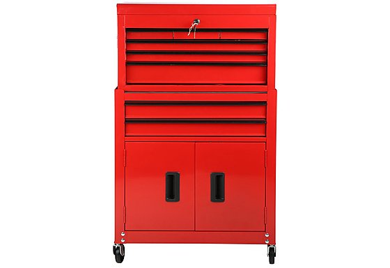 Halfords 8 Drawer Tool Centre