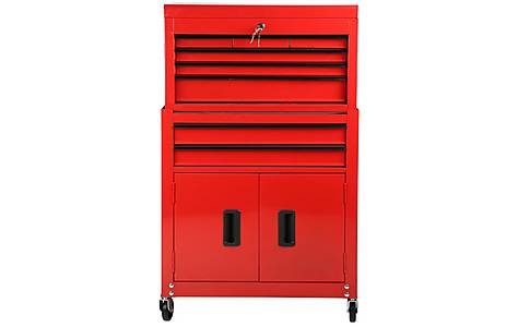 image of Halfords 8 Drawer Tool Centre