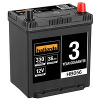 Halfords 12V Lead Acid Car Battery HBO56