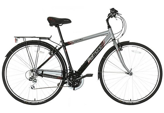 Apollo Belmont Mens Hybrid Bike