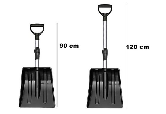 Patrol Telescopic snow shovel