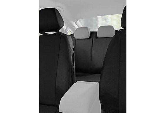 Halfords Car Seat Covers Full Set - Black