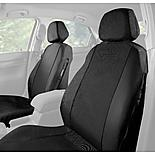 Halfords Car Seat Covers Front Pair - Black