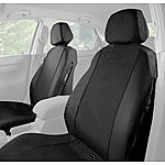 image of Halfords Car Seat Covers Front Pair - Black