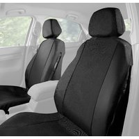 Halfords Car Seat Covers Front Pair - Black 2015