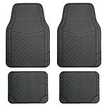 image of Halfords Rubber Car Mats - Full Set