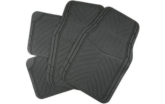duty michelin black all heavy edgeliner car mat mats row universal floor rubber weather set on