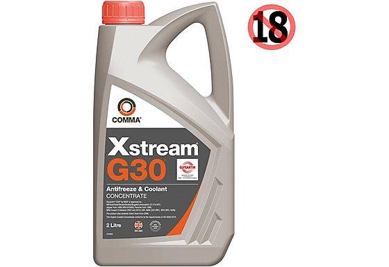 Comma G30 Antifreeze and Coolant Conc 2L