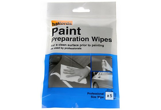 Halfords Paint Preparation Wipes x5