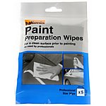 image of Halfords Paint Preparation Wipes x5
