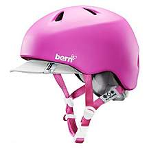 image of Bern Nina Girls Helmet With Visor