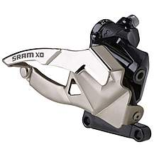 image of SRAM X0 Front Derailleur Low Direct Mount 2x10speed Bottom Pull