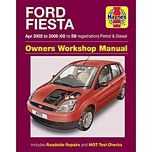 image of Haynes Ford Fiesta (Apr 02 - 08) Manual