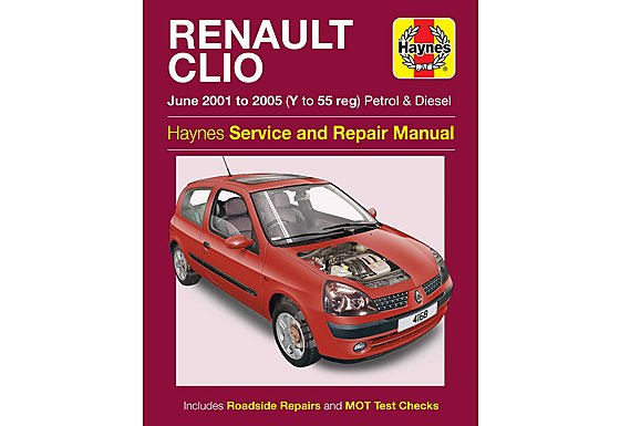 Haynes Renault Clio (June 01-05) Manual