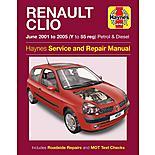 Haynes Renault Clio (June 01-05) Manual