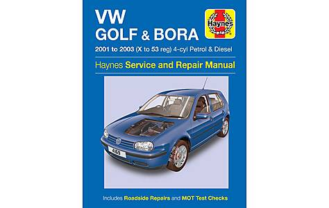 image of Haynes VW Golf & Bora (01-03) Manual