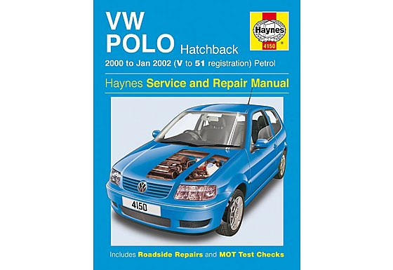 Haynes Volkswagen Polo Hatchback (00 - Jan 02) Manual