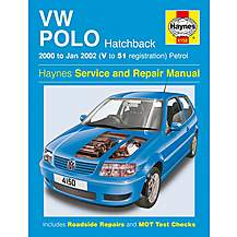 image of Haynes Volkswagen Polo Hatchback (00 - Jan 02) Manual
