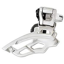 image of SRAM X9 Front Derailleur 3x9 High Clamp Bottom Pull