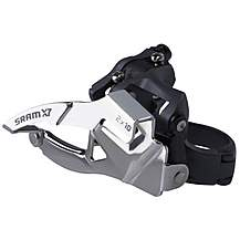 image of SRAM X9 Front Derailleur 2x10 High Clamp Dual Pull