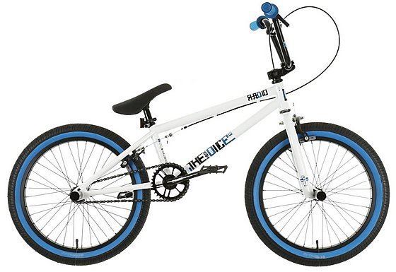 Radio Dice BMX Bike White