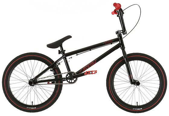 Radio Evol BMX Bike Black