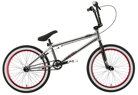 Radio Darko BMX Bike, Chrome