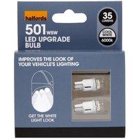Halfords 6000k LED Sidelight Bulbs 501 x 2