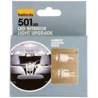 Halfords Ambient Lighting Upgrade Pack 6000k - White x 2