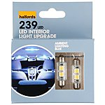 image of Halfords Ambient Lighting Upgrade Pack 12000k - Blue x 2