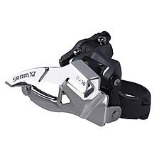 image of SRAM X7 Front Derailleur 2x10 High Direct Mount 38/36t Dual Pull