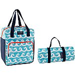 image of Summerhouse Aruba Insulated Family Cool Bag and Picnic Blanket Set