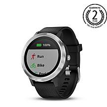 image of Garmin Vivoactive 3 GPS Smartwatch with Heart Rate Monitor