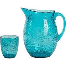 image of Summerhouse Aruba Bubble Pitcher and Tumblers